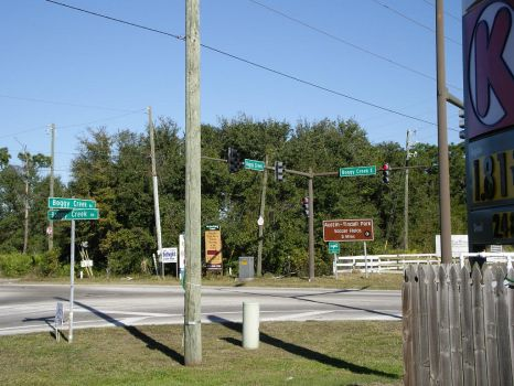 Boggy Creek Intersection by Maddog3060