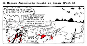 If Modern Anarchists Fought in Spain (Part 6) by RednBlackSalamander