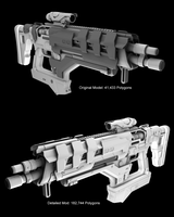 Commission: Fusion Rifle Custom by lady-die