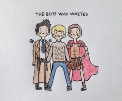 The Boys Who Waited by nerdymoosechild