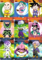 cards of dragon ball by darkmagisian