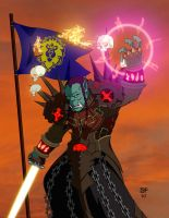 Commission: Orc Warlock by WereOrc