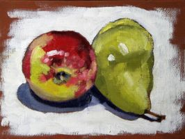 Still Life Study: Fruit by maccski