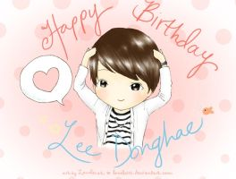 HAEppy Birthday Lee Donghae~!! by Lanaleiss