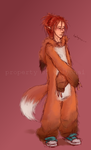lucky fox : tevia by Eriyonai