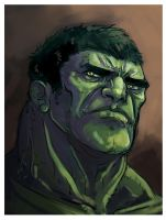 Hulk - speed painting by fifoux
