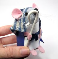 Amos the Shepherd Mouse by The-House-of-Mouse