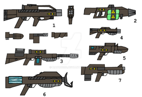 Breed Next-Gen Weapons by Havoc892
