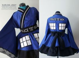 TARDIS - Doctor Who - Cosplay Kimono Dress by DarlingArmy
