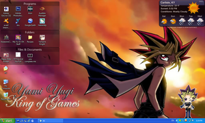 Yami Sunset King of Games Desktop by PharaohAtisLioness