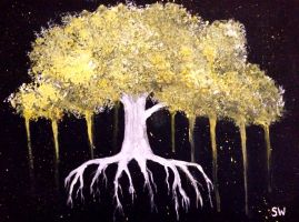 Yellow tree by hisnameisdean