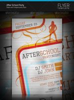 After School Party Flyer by artnook