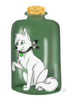 :COM: Spirit in a Jar by freedomhowls