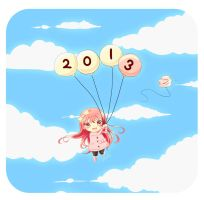 Happy New Year 2013 ! by Pluvias