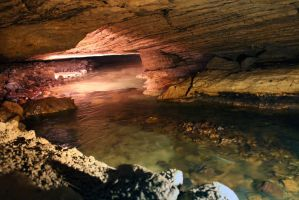 Underground cave river 2 by charfade