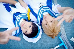 mikado and kida 2 by yui930