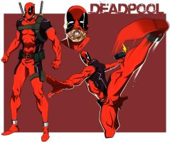DEADPOOL ANIMATED by CHUBETO