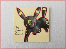 Umbreon [Fan Art] by LeyAsakura