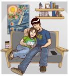 Chris and his lady by Finfrock