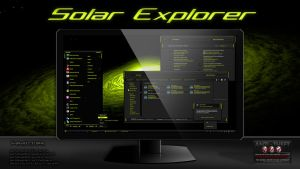 Solar Explorer Theme For Windows7 by Designfjotten by Designfjotten
