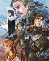 House Stark by manonquinn