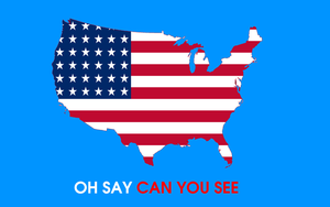 The Star-Spangled Banner (Sing-Along Graphics) by MikeEddyAdmirer89