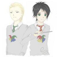 HP: Draco and Harry by Envy-number-six