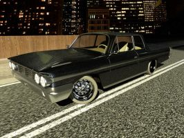 ford galaxie 2nd by kmpkt
