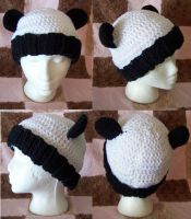 Ribbed Panda Beanie 2 by user-name-not-found