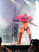 Samus Aran - On Stage by Karim-sama