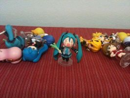 Arranging My Nendroids.... by Animefangirl68