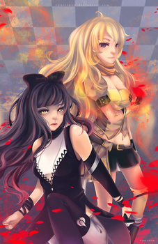 Blake and Yang by xpuresnow