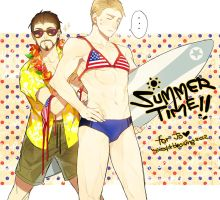 Tony/Steve: Summer by mixed-blessing