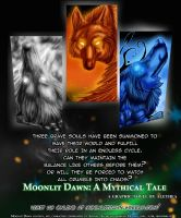 Moonlit Dawn Promo Poster by Wolven-Sister