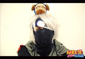 Kakashi's Lazy Eye Cosplay by flamable77