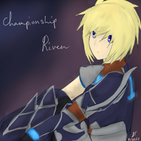 League of Legends: Championship Riven by TheMuteMagician