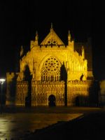 Exeter at Night: 12 by yaschaeffer