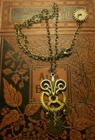 Pendulum Cog Necklace by LeviathanSteamworks