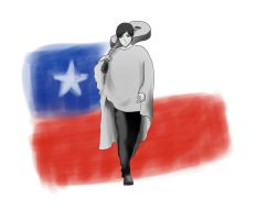 Felices fiestas patrias, Chile~ by Marce-san