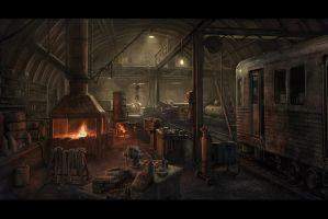 subway forge by BMacSmith