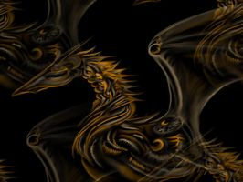 Dragon Tiles by Dacic