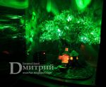 Beaded tree - Night lamp 'Magic tree' by BeadedDruid
