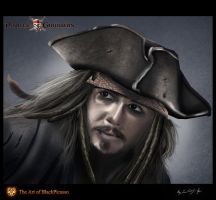 Jack Sparrow Portrait by BlackPicasso1989