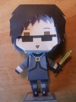 Skydoesminecraft papercraft by RainbowDfox