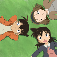 Shinichi, Ran y Sonoko. by chenchiz