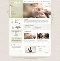 Massage Web 2.0 WP Template by princepal