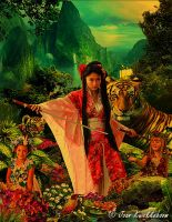 Protectress of the Nature by Kwekkie1982