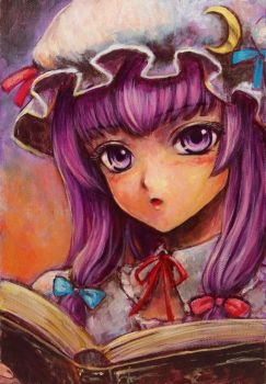 Patchouli_Knowledge by tafuto001