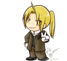 Chibi Edward Elric : Munich by deru-san