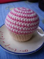 Crocheted Muffin by Amyberry
